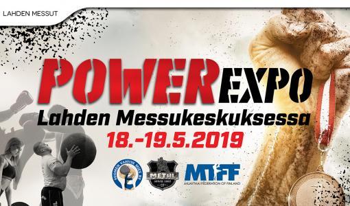 POWER Expo tuo kolme vahvaa ja näyttävää lajia saman katon alle Lahdessa – Thai Boxing mukana viihteellisessä voimailuviikonlopussa