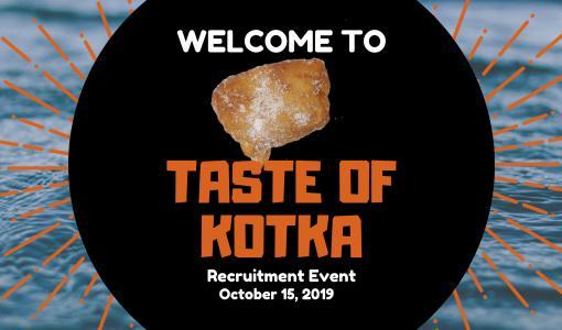 Kutsu/tiedote: Taste of Kotka -kohtaamistapahtuma 15.10. Kotkassa