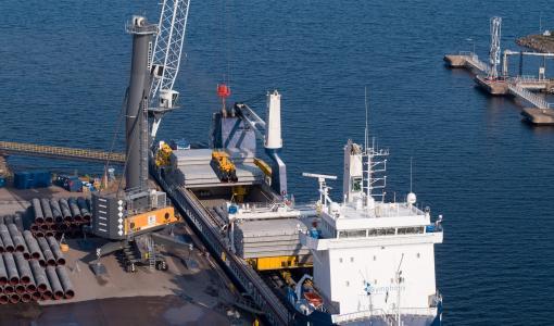 Nord Stream 2 -kaasuputkien varastointi- ja logistiikkatoiminnot päättyivät Suomessa