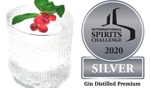 Tornio Distillerylle arvokas ISC:n Gin Distilled Premium -palkinto
