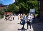 Suomenlinnasta kiinnostuneet pääsevät Museopäivänä linnoitukseen vapaaehtoisiksi