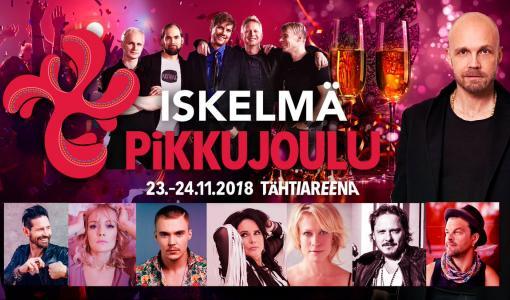 Iskelmä Pikkujoulu 2018 -festareita juhlitaan ensi viikolla Tampereella
