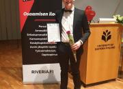 Valtakunnallinen AMIS-stipendi Riveriaan: liperiläinen Atso Jaakkola on vuoden AMIS-tähti