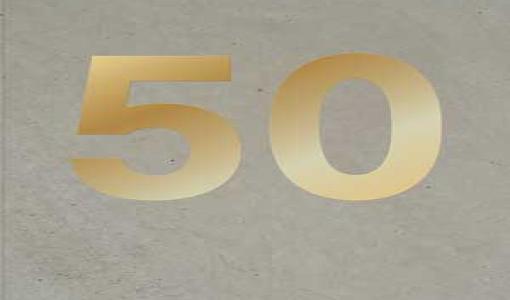 Vuoden Betonirakenne 50 vuotta -juhlakirja ilmestyi