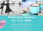 Rakkautta Ilmassa -tapahtuma Mäntyharjussa 14.2. – 17.2.2019