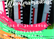 Taidetta ulkoilmanraikkaasti Mäntyharjussa, kutsu 13.6. klo 15-16 pidettävään lehdistötilaisuuteen