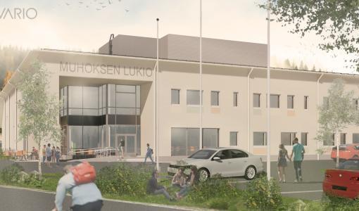 Muhoksella pilotoidaan uutta koulurakentamisen mallia – Urakkakilpailutus valjastettiin kouluhankkeen hyödyksi