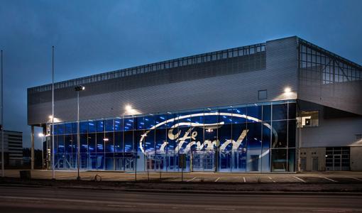 Laakkosen uusi FordStore hyödyntää aurinkoenergiaa ja maalämpöä