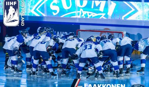 Autokonserni Laakkonen ja Ford yhteistyökumppaneina naisten jääkiekon MM-kisoissa