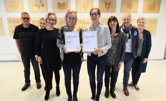 Tampere-talolle ykköspalkinnot kansainvälisessä Eventex Awardsissa - ePressi