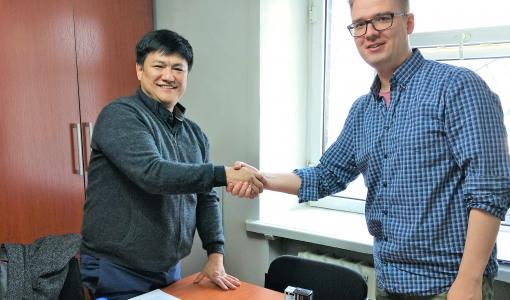 Lähetysyhdistys Kylväjälle ja Mongolian evankelis-luterilaiselle kirkolle yhteistyösopimus