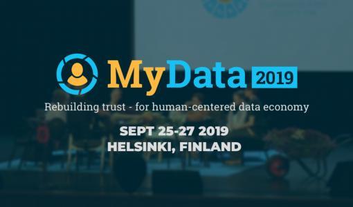 [Päivitetty] KUTSU: Tervetuloa MyData 2019 -konferenssiin löytämään uutisia reilusta datataloudesta - Uusia puhujia päivitetty!