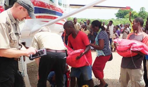 Lähetyslentäjät auttavat hirmumyrsky Idain uhreja Mosambikissa
