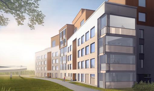 Tapiolaan valmistuu syksyllä 2020 uusia kohtuuhintaisia koteja