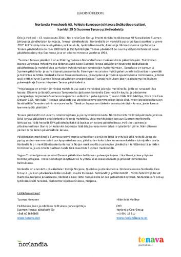 lehdisto-cc-88tiedote-norlandia-care-ja-tenava-pa-cc-88iva-cc-88kodit-13052014.pdf