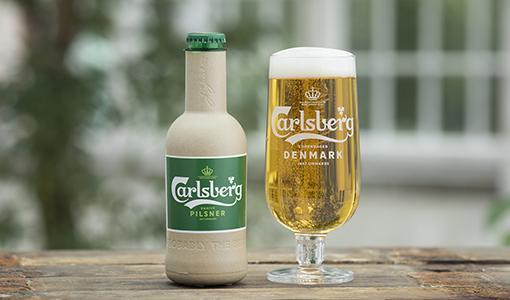 Puukuituinen olutpullo entistä lähempänä