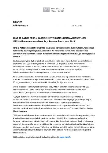 jaes_tiedote_jane-ja-aatos-erkon-saation-historian-suurin-avustusvuosi_191219.pdf