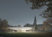 Vinnaren i arkitekturtävlingen som ordnades om Nationalmuseets tillbyggnad är JKMM Arkkitehdit Oy