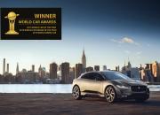 Jaguar I-PACE jatkaa voittokulkuaan – uusimpana kolmoisvoitto 2019 vuoden auto maailmassa kategorioissa