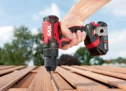 Uudet punaiset SKIL-akkutyökalut tuovat ammattisähkötyökaluista tuttua teknologiaa harrastajien ulottuville