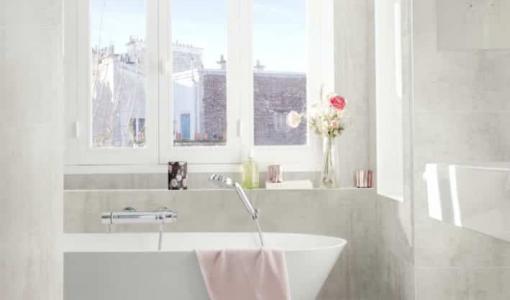 Uusi märkätilasertifioitu seinäpaneelijärjestelmä kylpyhuoneisiin