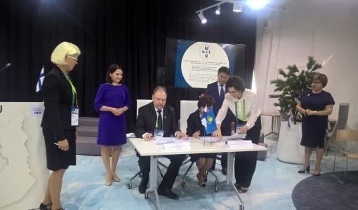 JAMK uranuurtajana hoitotyön master-tason koulutusviennissä Kazakstanissa