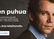 Kirjailija Juha Itkonen sanoitti kansanterveyden merkityksen: uusi Suomen Terveydelle -syyskeräys vahvistaa Suomea koronan jäljiltä