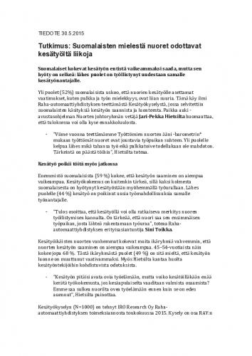 kesatyokysely_tiedote.pdf