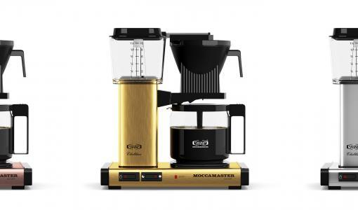 Metallinhohtoa syksyyn: Moccamaster Metallic Edition -sarja tuo kahvinkeittimen design-klassikkoon kuparia ja kultaa