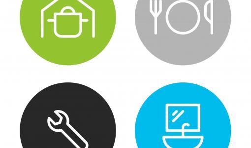 Serla tuo talouspaperipakkauksiin käyttöä kuvaavan symbolin – oikean tuotteen valinta helpottaa arkea