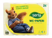 Serlan uusi pakkauskääre hyödyntää kierrätettyä muovia ja uusiutuvaa raaka-ainetta