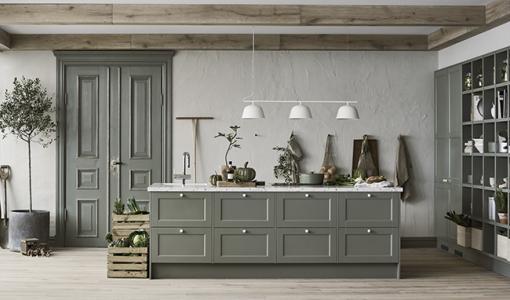 Keittiömaailma ja Lotta Agaton yhteistyöhön: ruotsalainen sisustusvaikuttaja suunnitteli trendivärit keittiöihin