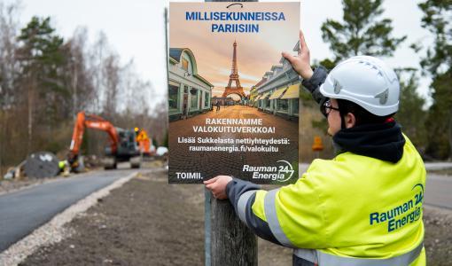 Suomessa on otettu käyttöön uuden sukupolven valokuituteknologia: edelläkävijöinä toimivat Cinia ja Rauman Energia