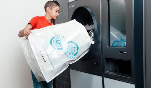 Pulloahmatti vihdoin myös Tampereelle – muovipullot ja tölkit voi palauttaa kerralla TOMRA R1 -palautusautomaattiin K-Citymarket Turtolassa