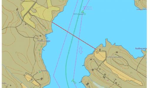 VTS Saimaa tiedottaa: Siilinjärven vesiväylä kiinni osan päivää 11.6. kaapelointitöiden takia