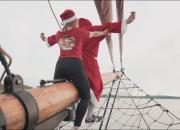 Bad Santa irrottelee Jesse Villan Ysäri-musiikkivideolla