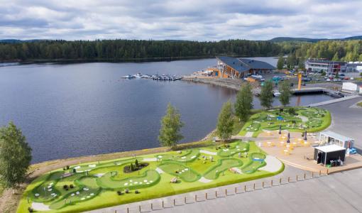 Minigolfin MM-kisat Kuopion Bellanpuistoon kesällä 2021