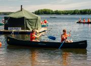 Partiolaisten Otava 2020-leirillä luontoa suojellaan yhdessä