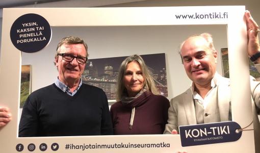 MATKATOIMISTO KON-TIKI TOURS OSTAA BJÖRK & BOSTRÖM FINLAND OY:N