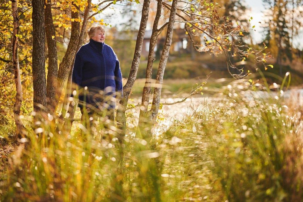 Mitä huomioida, kun lähdet iäkkään henkilön kanssa virkistymään luontoon