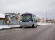 Palkittu suomalainen robottibussi aloittaa ajamisen Vantaan Kivistössä