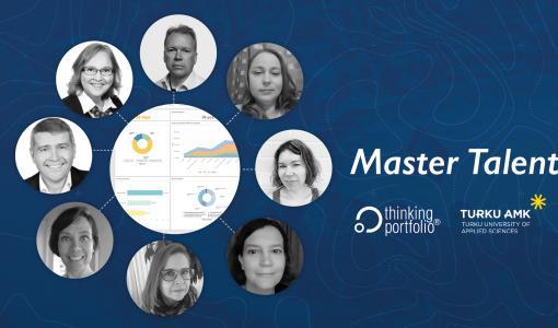 Thinking Portfolio tuo salkkujohtamisen parhaat työkalut ja käytännöt osaksi Turun AMK:n Master School projektijohtamisen koulutusta