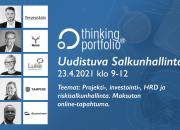 Thinking Portfolion Uudistuva salkunhallinta -virtuaalitapahtuma kokoaa yhteen ennätysyleisön – jo 2 400 osallistujaa!