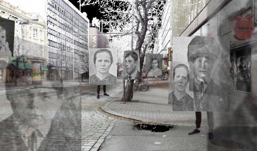 100 vuotta vanhat lasinegatiivit heräävät eloon digiajan videoinstallaatiossa