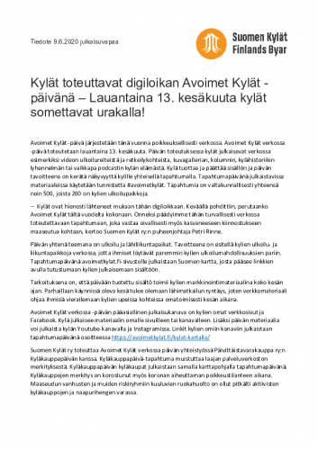 avoimet_kylat_verkossa_tiedote.pdf