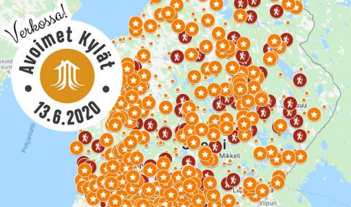 Avoimet Kylät verkossa -päivä innosti kylät digiloikkaan — lähes 600 päivitystä verkkoon!