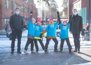 Finska toppföretagare deltar med stöd i miljonklass
