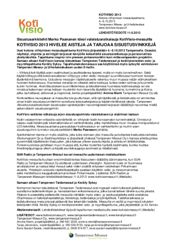 kotivisiotaidemessutkeraily2013_lehdistotiedote11062013.pdf