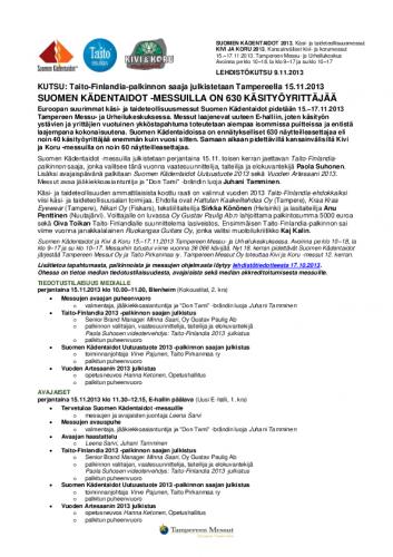 suomenkadentaidot2013_lehdistokutsu09112013.pdf