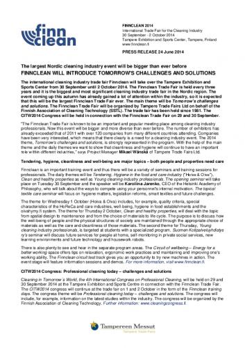 finnclean_pressrelease24062014.pdf